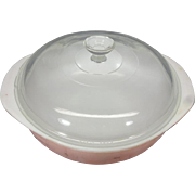 Vintage Pyrex #12 Casserole Dish with 1 1/2 Qt. Capacity and Glass Lid