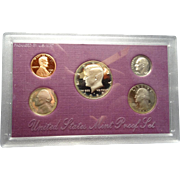 United States Proof Set 1989