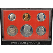 United States Proof Set 1982