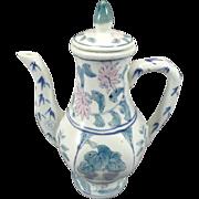 Beautiful Vintage Ceramic Floral Teapot