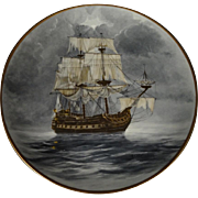 The Flying Dutchman by A.D'Estrehan - Legendary Ships of the Seas Plate Collection - includes Certificate of Authenticity.