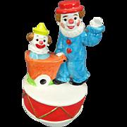 """Gorham Vintage Clown Music-Go-Round Playing """"When the Saints"""""""