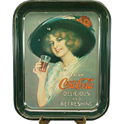 Vintage Coca-Cola Tin Serving Tray