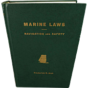 Marine Laws Navigation and Safety by Arzt