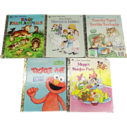 A Little Golden Book Collection of 5 Children's Stories