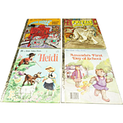 A Little Golden Books Collection of 4 Children's Books