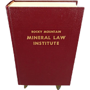 Rocky Mountain Mineral Law Institute #24