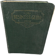 The Business Guide An outline of Business 1928
