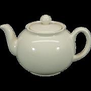 Pristine England Off-White Teapot