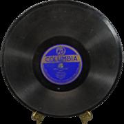 "Eddie Elkins 78 RPM Columbia Records "" Blue/Who Cares"""