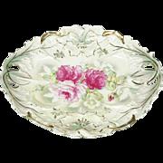 IPF Germany Porcelain Oval Decorative Platter 1903-1930