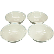 Corelle by Corning Romance Pattern 4 x Coupe Cereal Bowls