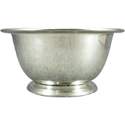 International 96 oz Silver-Plated Serving Bowl 18/10 Pattern 5493