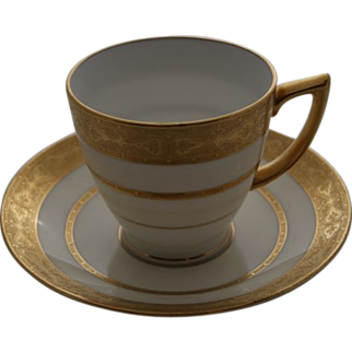 Minton Demitasse Cups and Saucers, Set of 4