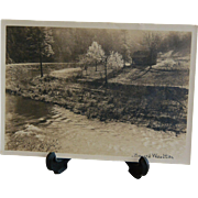 Bayard Wootten Carolina Farm Creek Signed Silver Gelatin Photograph