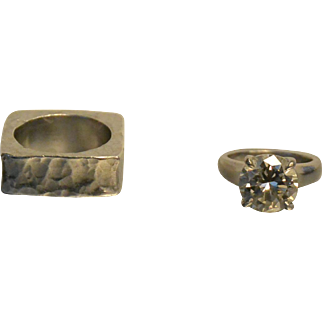 5.12 Carat Large Diamond Solitaire
