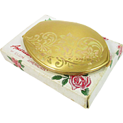 """ELGIN """"American Beauty"""" Compact with Box"""
