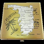 Unused DORSET Souvenir of Florida Compact