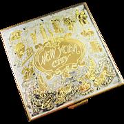 Unused VOLUTE New York City Souvenir Compact