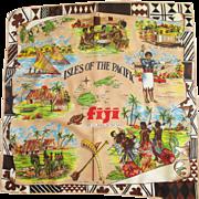 Vintage Souvenir of FIJI Scarf