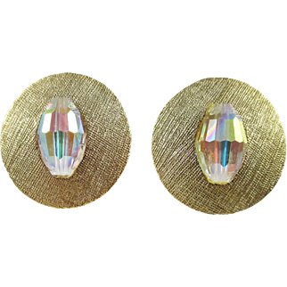 Alice CAVINESS atomic saucer earrings