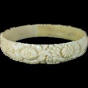 CLEARANCE Celluloid bangle bracelet