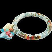Artisan Florida bangle with charms