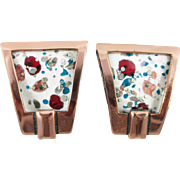 MATISSE Renoir cream – multi and copper earrings