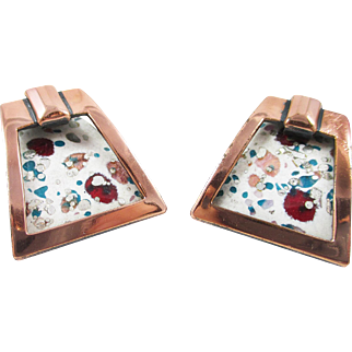 MATISSE Renoir cream – multi and copper earrings