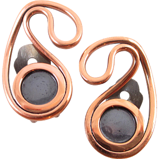 My favorite RENOIR copper earrings