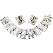 """SARAH COVENTRY """"Tailored Classic"""" bracelet and earrings."""