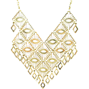 Large SARAH COVENTRY bib necklace