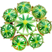 Mod 1960s Flower Power Pin