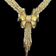 VENDOME multi-strand waterfall necklace