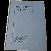1933 Book Portrait Painting Author Signed Artist Margaret Fitzhugh Browne