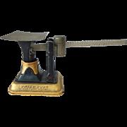 Antique Fairbanks Fancy Black & Gold Postal Scale Balance