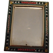 Vintage Collectible Italian Mosaic Picture Frame