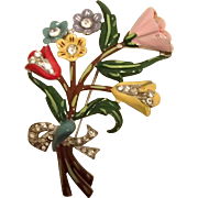Large 30's Posy Pin of Many Colors