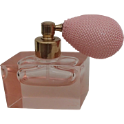 Pink Glass Perfume Atomizer - Mikado