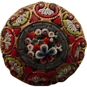 Petite Mosaic Pin w Many Colors