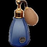 Vintage Cobalt Blue Perfume - DeVilbiss
