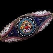 True Micro Mosaic Italian Pin