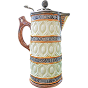 Wedgwood Majolica Syrup Pitcher