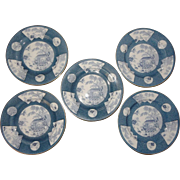 Royal Worcester Transferware Plates