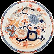 Mason's Ironstone Plate in Imari Colors