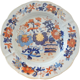 Mason's Ironstone Plate in Imari Colors