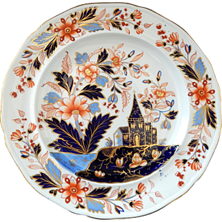 Davenport Ironstone Plate