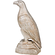 "Large 33""Cast Aluminum White Eagle Mascot"