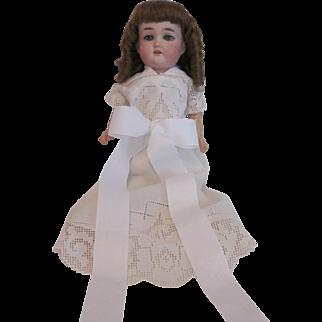 """German Bisque Head Doll by Gebruder Kuhnlenz - 17""""-  165K"""