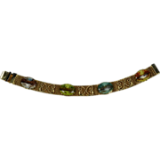 Vintage Mesh Bracelet Four Seasons Porcelain Tiles